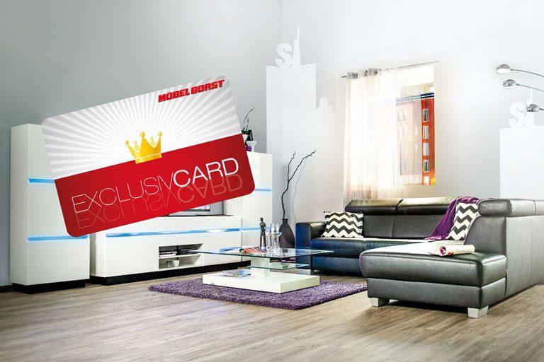 kundenkarte m bel borst. Black Bedroom Furniture Sets. Home Design Ideas