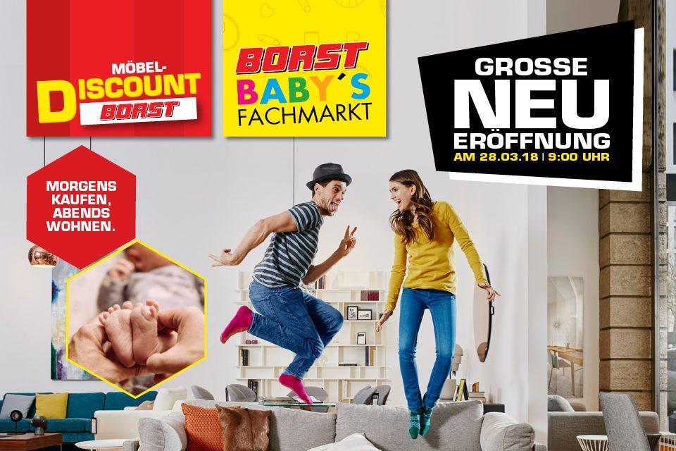Große Neueröffnung Möbel Discount Und Babys Fachmarkt Möbel Borst