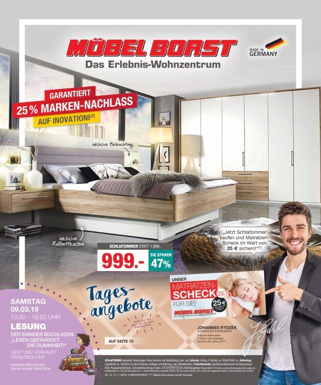 Prospekte Möbel Borst