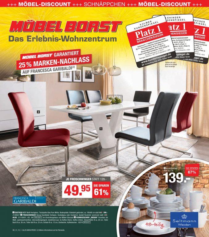 Aktuelle Angebote bei Möbel Borst
